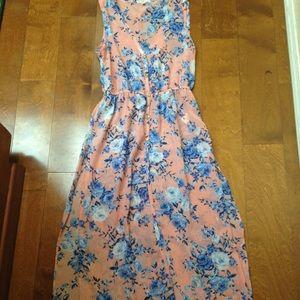 Sheer Maxi Blouse/Dress